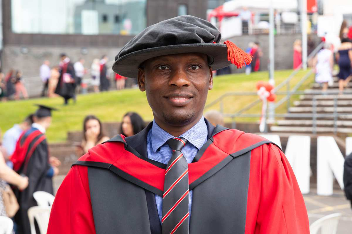 Dr Abdulkareen Karasuwa from Nigeria, PhD July 2019