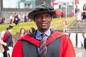 Dr Abdulkareen Karasuwa from Nigeria, PhD July 2019