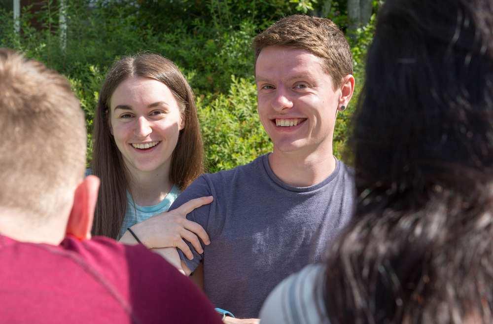Bridgend College students