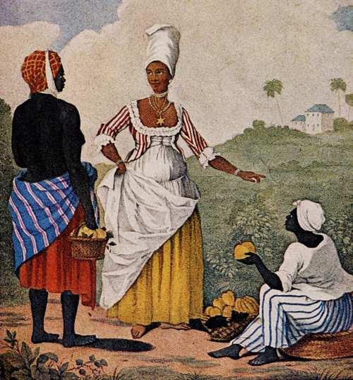 Slavery Image: Free Woman of Color, Barbados, late 1770s by Agostino Brunias