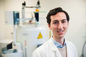 Dr Angelo Iannetelli graduated with first-class Honours from the BSc (Hons) Chemistry course at USW before progressing to a PhD. He is currently carrying out postdoctoral research with Professor Damian Bailey at USW.