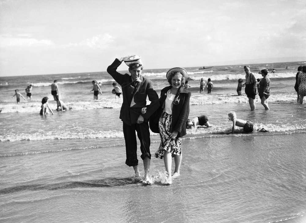 Barry Island 1951, Image: Walesonline