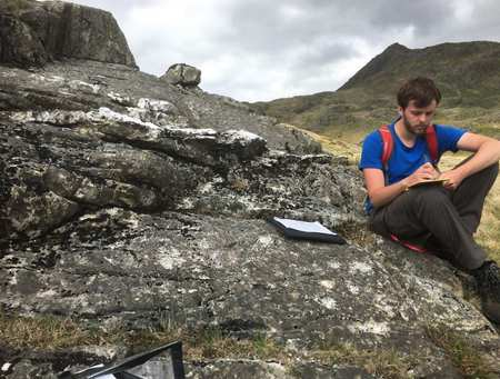 Geosciences - Dafydd, Masters by Research student