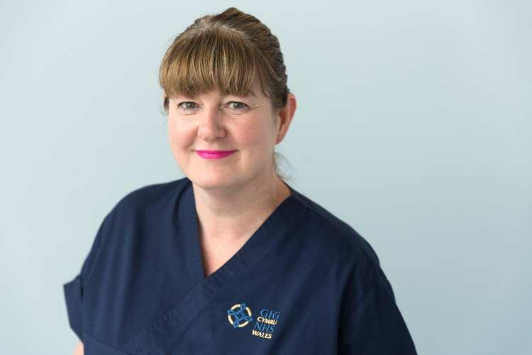 Donna Pace - NHS nurse