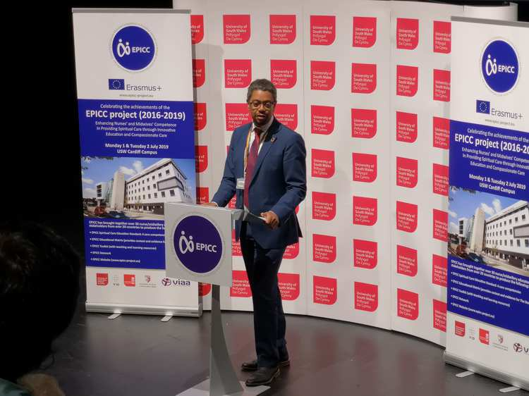 EPICC launch July 2019, Cardiff - Vaughan Gething