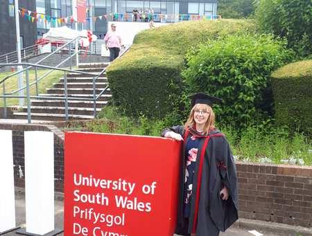 Emma at Graduation