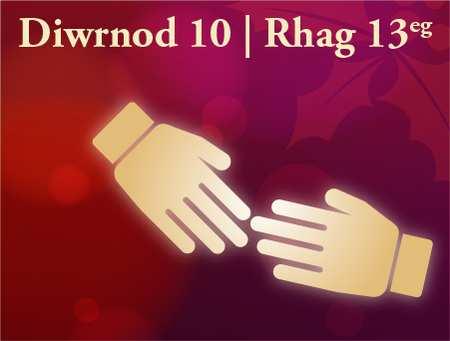 Diwrnod 10