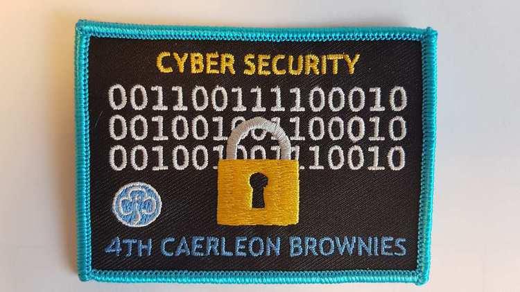 Cyber Girl Guide badge