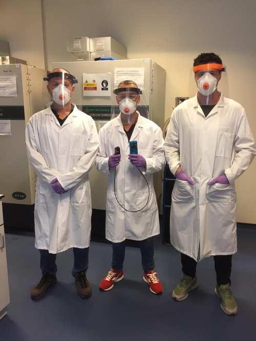 Neurovascular Lab researchers