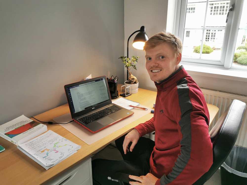 Iwan, Sport Psychology PhD student