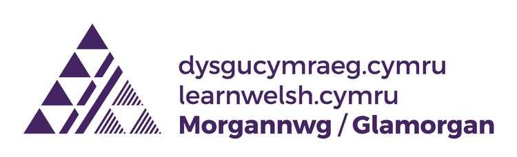 Logo Dysgu Cymraeg Morgannwg