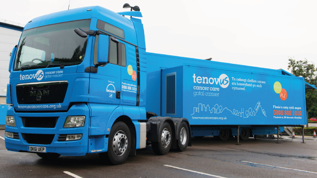 Tenovus bus - GIS research project