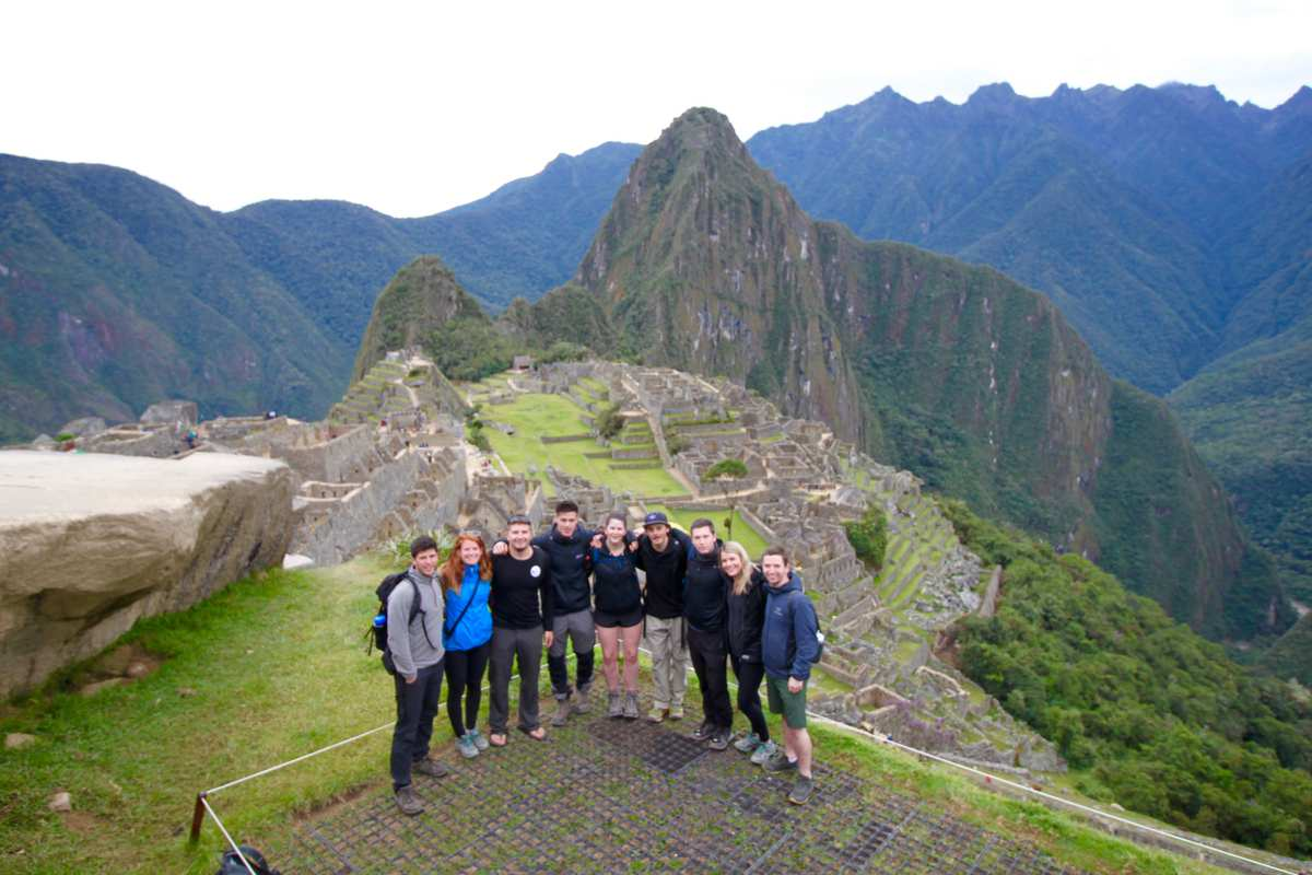 Ben Stacey PhD student - Machu Pichu