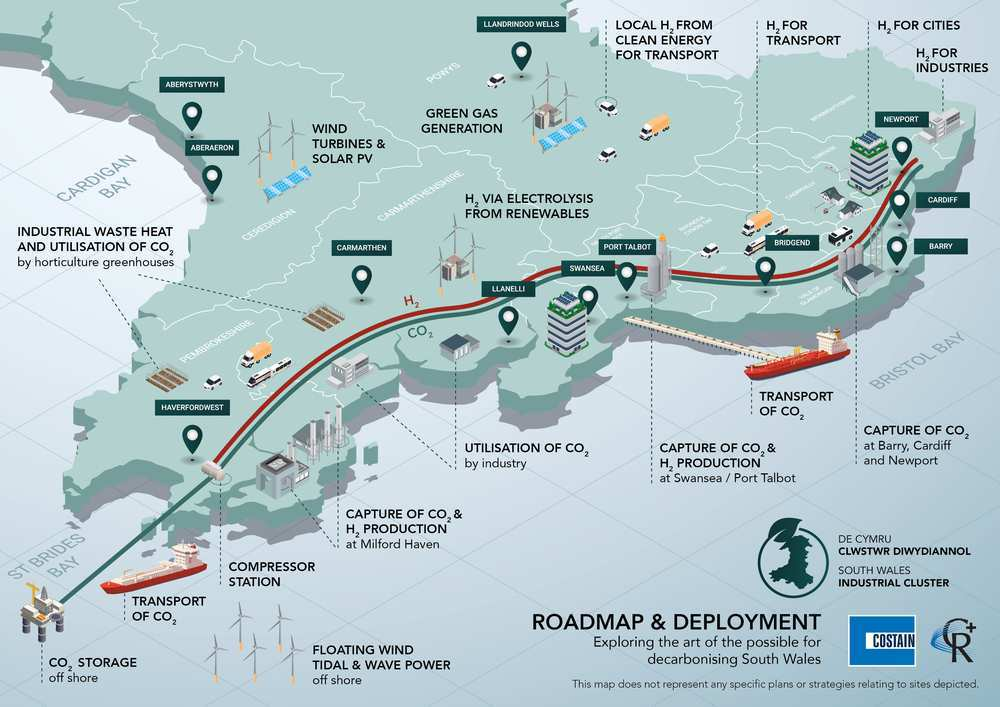 South Wales Industrial Cluster (SWIC) Roadmap and Deployment project - SERC