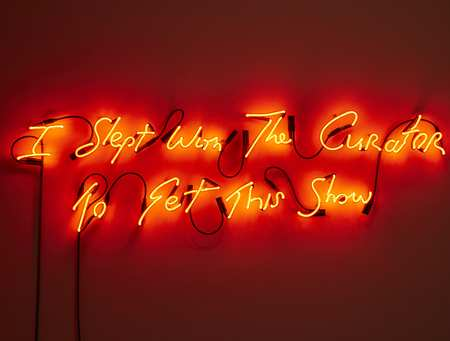 Maurice Doherty, I Slept With The Curator to Get This Show, Neon, 2016.