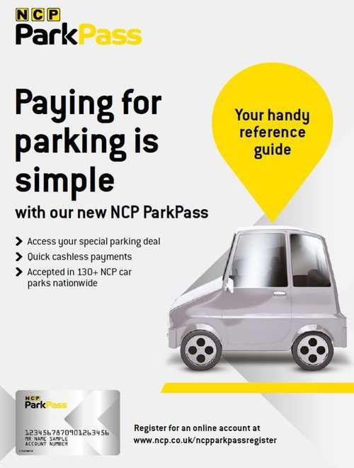 NCP Park Pass