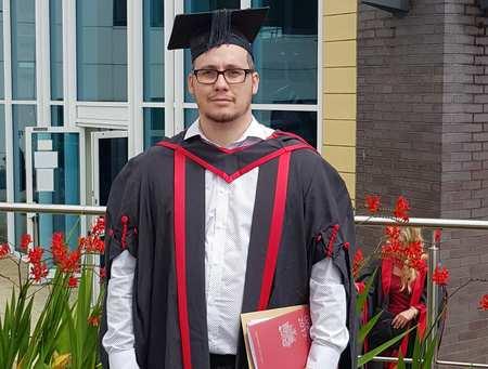 Nathan Walbeoff Graduation