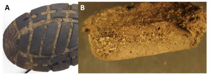 Evidential analysis of soils from footwear