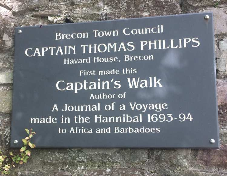 Plaque in Brecon to Captain Thomas Phillips - History Research