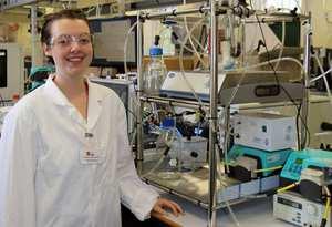 Rhiannon Chalmers Brown, KESS PhD SERC and Tata Steel