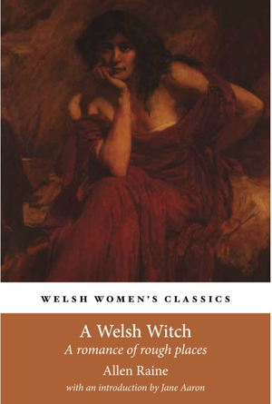 Allen Raine - book cover; English PhD Research by Juliet Larson