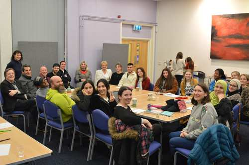Speak to Me - creative writing project for refugees in RCT by Barrie Llewellyn