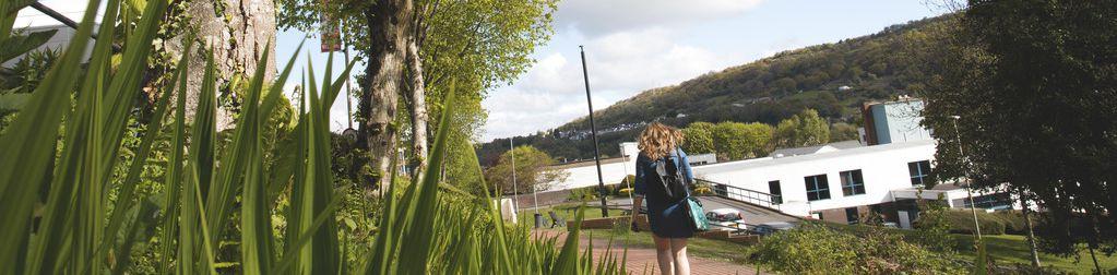 Treforest Campus Sunny