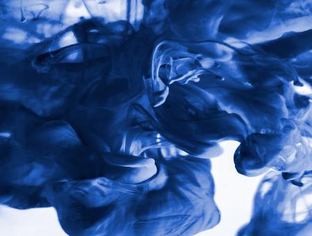blue smoke swirl