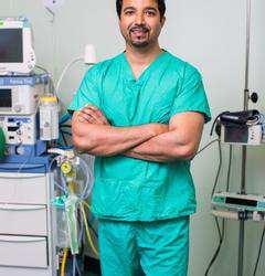 Professor Neeraj Saxena, Visiting Professor, Health