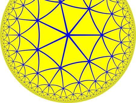 Hyperbolic tiling