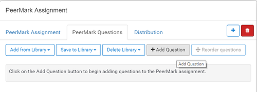 peermark - add questions