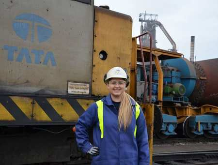 Rebecca Peters at Tata Steel