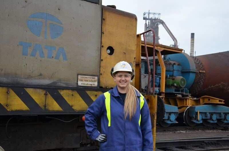 Rebecca Peters at Tata Steel