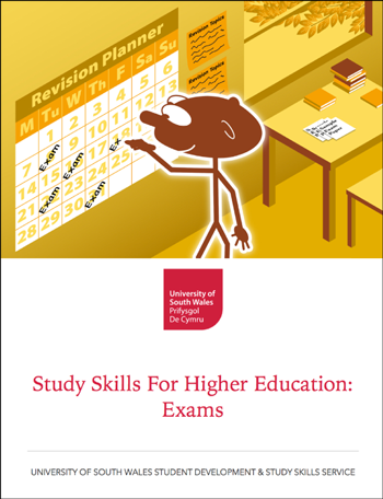 Study Skills for Higher Education: Exams — book cover