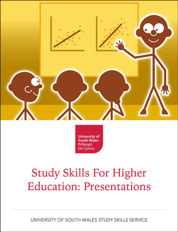 Study Skills for Higher Education: Presentations — book cover