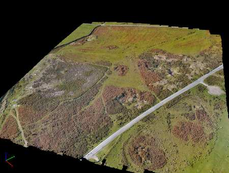 3D Generated Model of an archaeological site